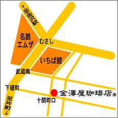 近江町市場地図