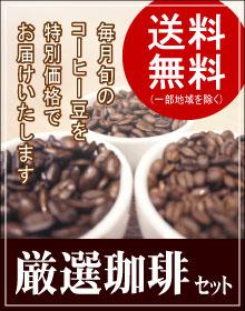 月替り厳選コーヒー豆セットはこちら