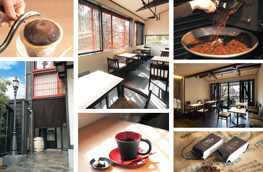 金澤屋珈琲店の実店舗イメージ